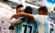 Messi, Di Maria, Mercado