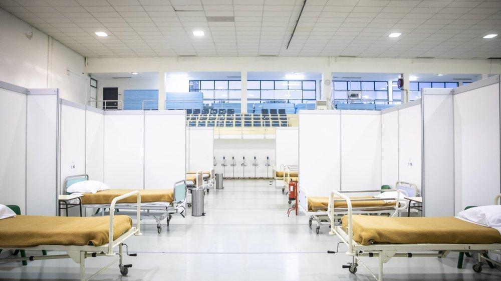 Hospital de campanha Lisboa
