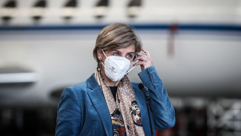 Ministra da Saúde Marta Temida