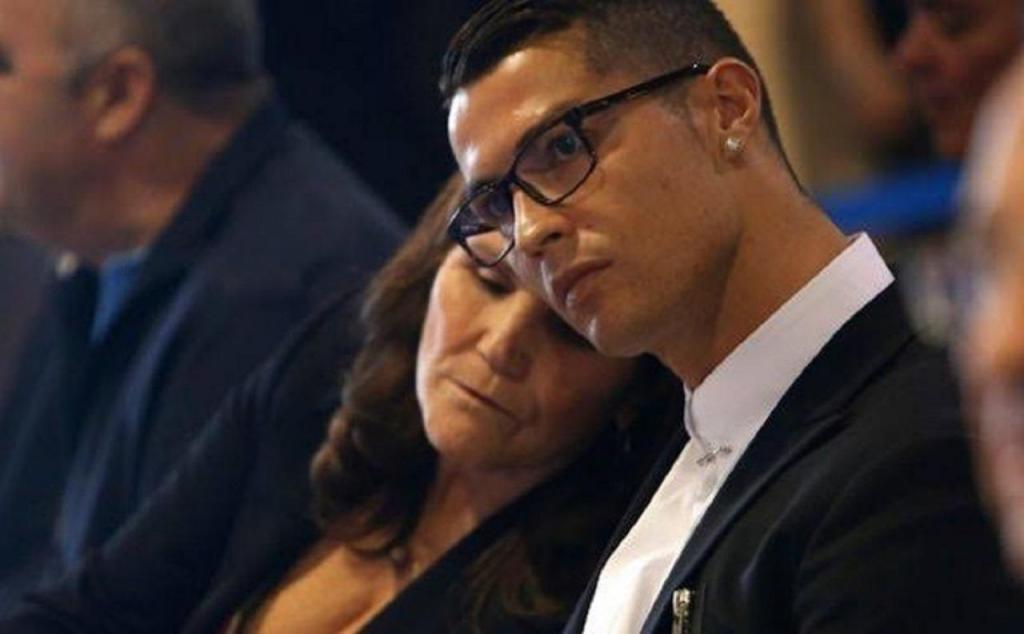 Dolores Aveiro e Cristiano Ronaldo
