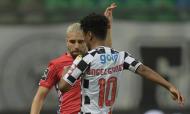 Paulinho e Angel Gomes no Boavista-Gil Vicente (Fernando Veludo/LUSA)