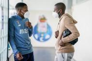 Nanu esteve no Olival (foto FC Porto)