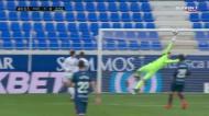 O golaço de Javi Galán que pôs o Real Madrid a perder em Huesca