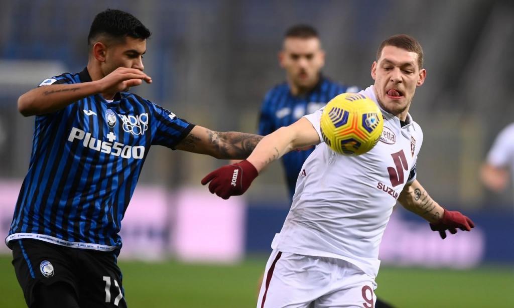 Andrea Belotti (Fabio Ferrari/LaPresse via AP)