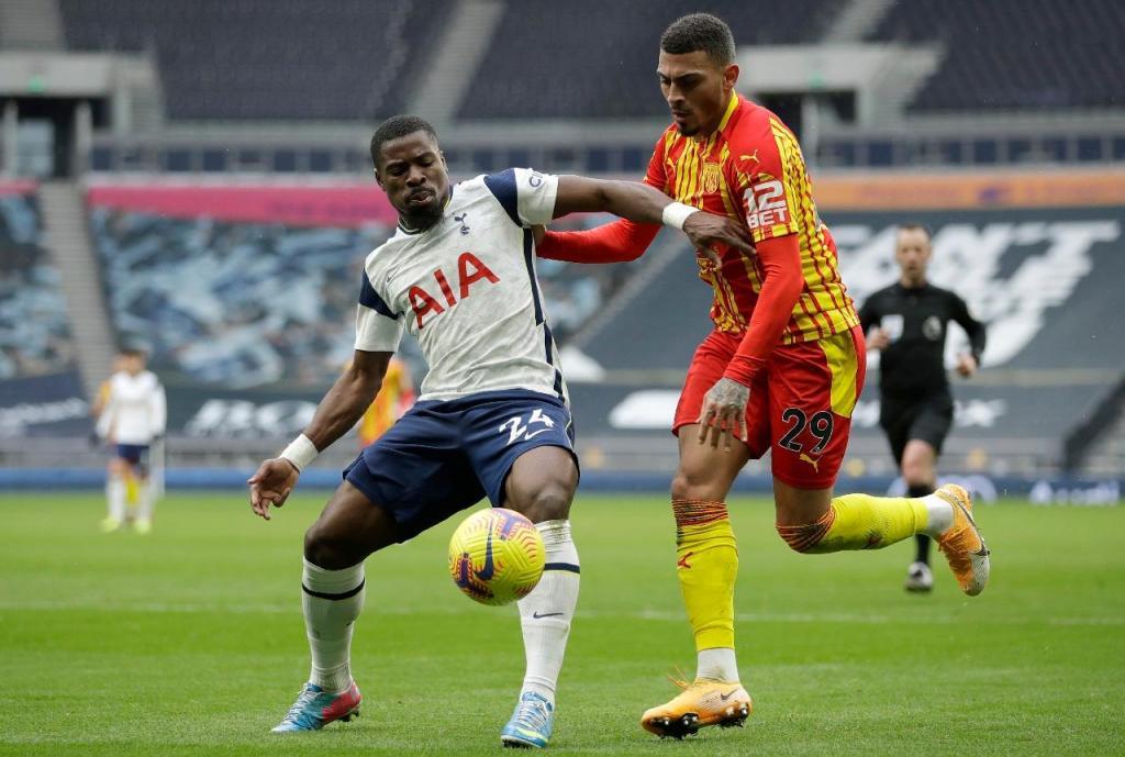 Tottenham-WBA (AP)
