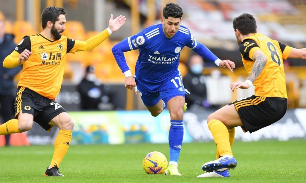 Wolverhampton-Leicester (Justin Tallis/Pool via AP)