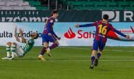 Trincão marca no Betis-Barcelona (AP)