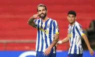 Sérgio Oliveira abriu o marcador no Sp. Braga-FC Porto (Hugo Delgado/LUSA)