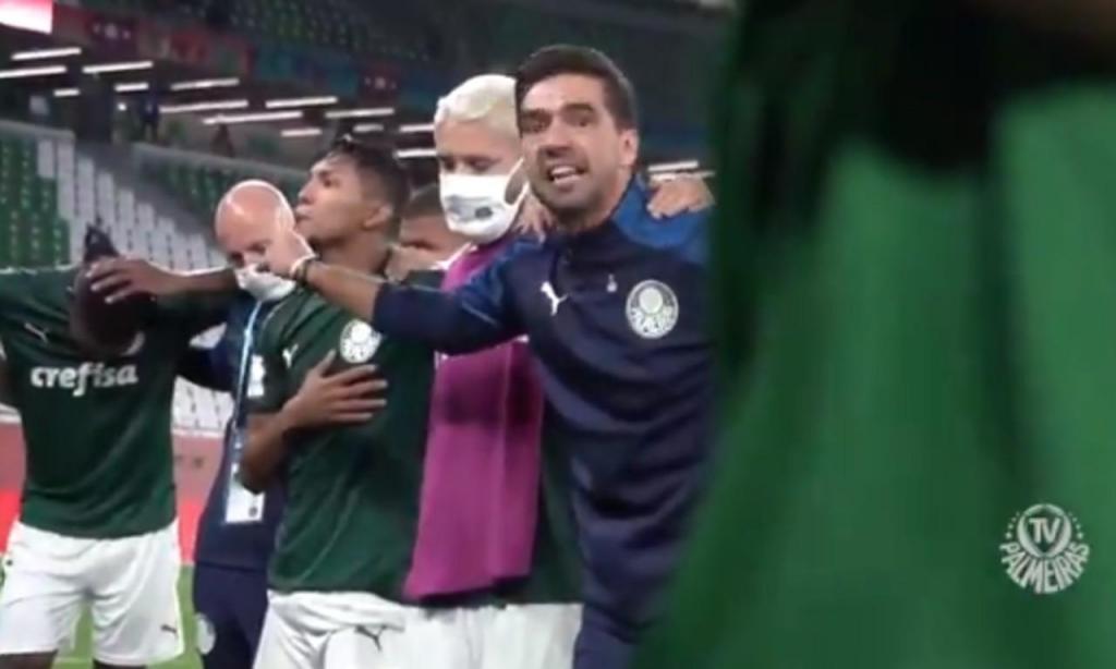 Abel (twitter Palmeiras)