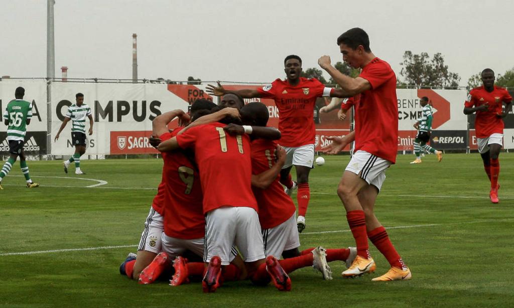 Benfica-Sporting na Liga Revelação 2020/2021 (Foto: SL Benfica)