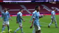 Ferreyra gelou Metropolitano com o golo do empate do Celta