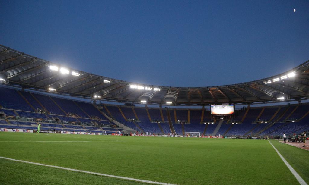 Estádio Olímpico de Roma (AP)