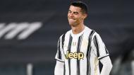 Cristiano Ronaldo no Juventus-Inter de Milão, da Taça de Itália (Marco Alpozzi/AP)