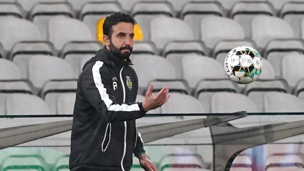 Ruben Amorim no Gil Vicente-Sporting (Hugo Delgado/LUSA)