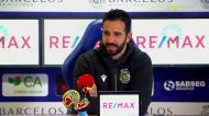Amorim analisa o jogo de Paulinho frente ao Gil Vicente