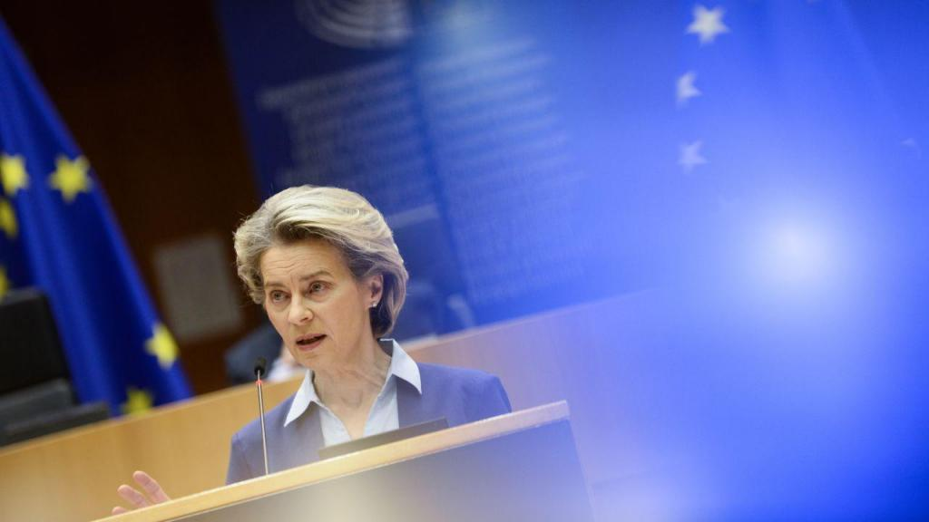 Ursula von der Leyen, presidente da Comissão Europeia