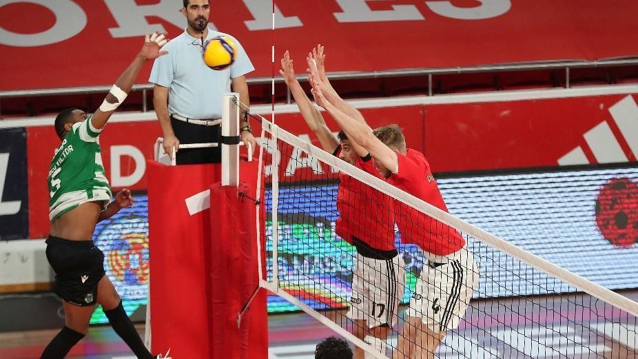 Dérbi de Voleibol (foto: SL Benfica)