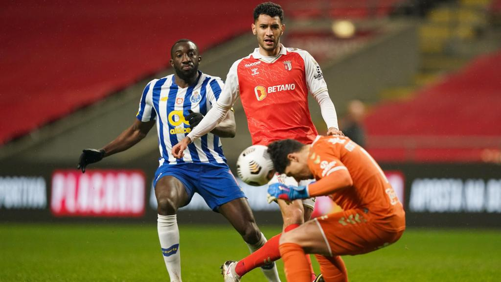 Taça: Sp. Braga-FC Porto (Lusa)