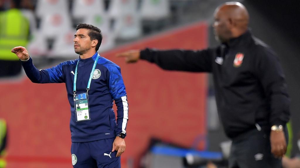 Abel Ferreira no Al Ahly-Palmeiras, jogo de atribuição do terceiro e quarto lugares do Mundial de Clubes (Noushad Thekkayil)