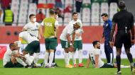 Palmeiras foi derrotado nos penáltis e ficou em quarto no Mundial (Noushad Thekkayil/AP)