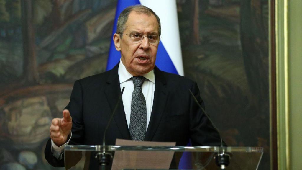 Sergei Lavrov, ministro dos Negócios Estrangeiros russo
