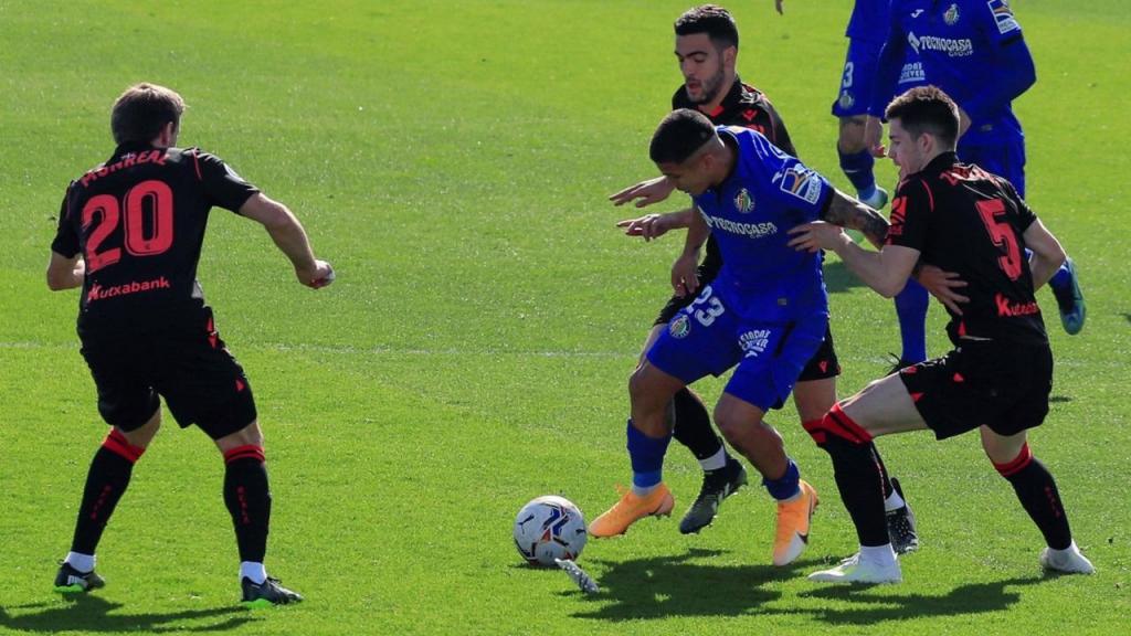 Getafe-Real Sociedad (EPA/Fernando Alvarado)