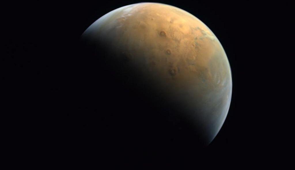 Imagem de Marte capturada pela sonda