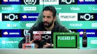 «O Sp. Braga está a vencer com golo do Borja... não é bom para o treinador»