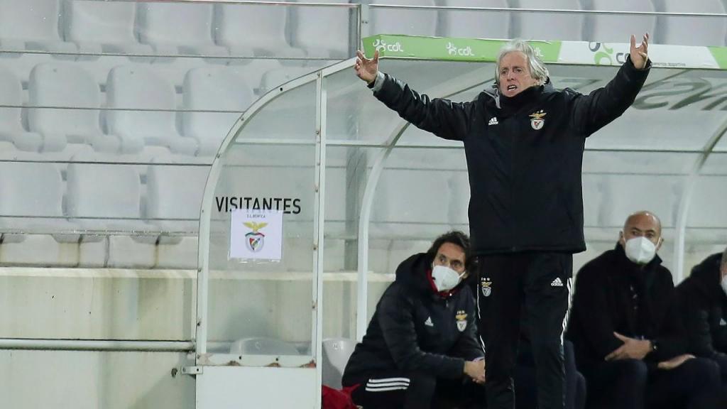 Moreirense-Benfica (Manuel Fernando Araújo/Lusa)