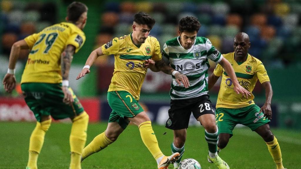 Sporting-P. Ferreira (Mário Cruz/Lusa)
