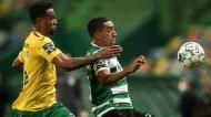 Sporting-P. Ferreira: Maracás e Tiago Tomás (Mário Cruz/Lusa)
