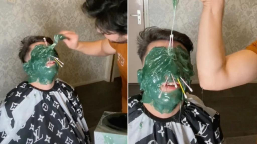 Novo desafio do TikTok: cobrir a cara com cera quente