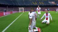 Grande jogada do PSG, Mbappé não fica atrás e empata em Camp Nou