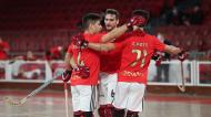 Hóquei em Patins do Benfica 2020/2021: Diogo Rafael, Edu Lamas e Gonçalo Pinto (SL Benfica)