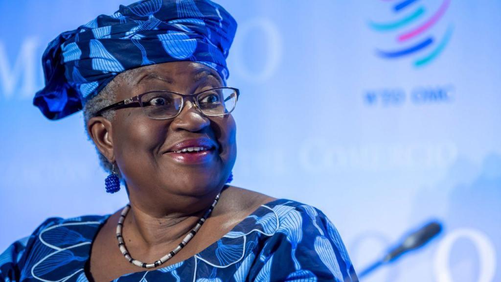 Ngozi Okonjo-Iweala, líder da Organização Mundial do Comércio (OMC)