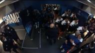 O caloroso abraço entre Pepe e Ronaldo no túnel do Dragão