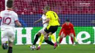 Haaland, sempre ele: o golaço do norueguês para dar vantagem ao Dortmund
