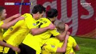Haaland não perdoa, bisa em Sevilha e faz o 3-1 para o Dortmund