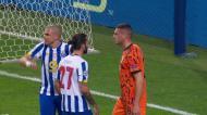 Pepe e Demiral pegados: central do FC Porto queixa-se de agressão