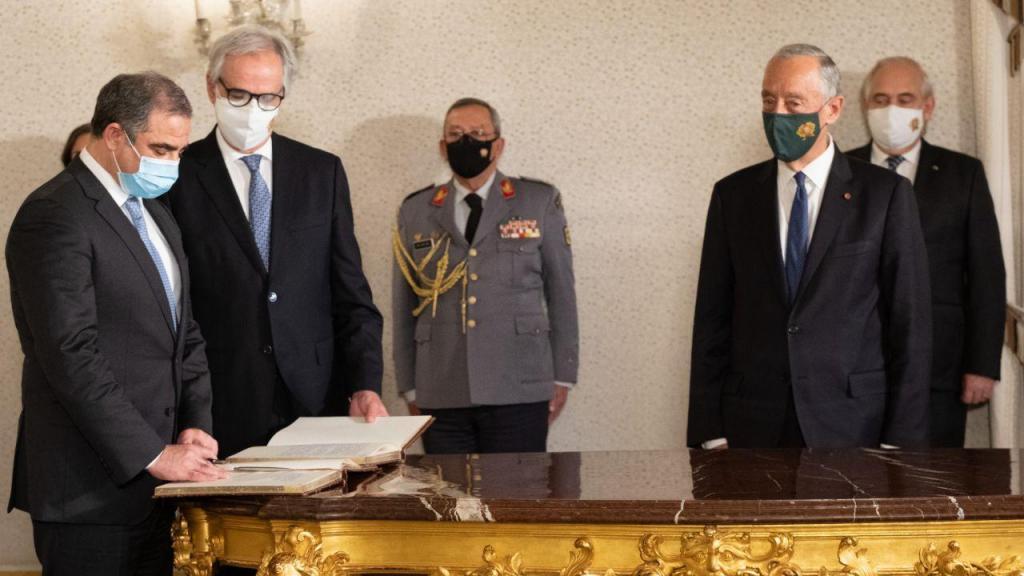 Cerimónia de tomada de posse de novos membros do Conselho de Estado