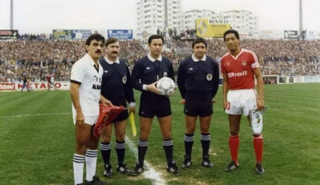 Farense-Benfica (Arquivo Paco Fortes)