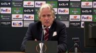 Jesus explica alteração na baliza do Benfica