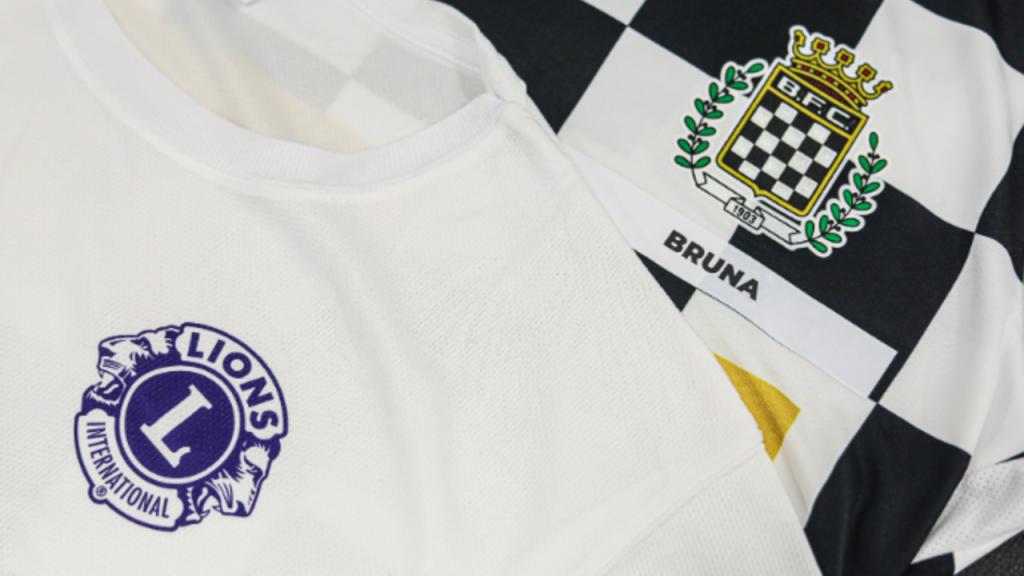 Camisola do Boavista para o jogo com o Moreirense
