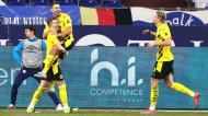 Schalke 04-Borussia Dortmund (Lusa)