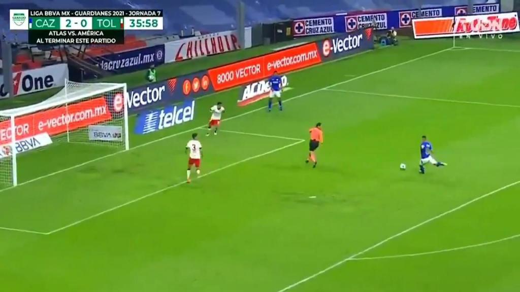 Cruz Azul-Toluca (Twitter)