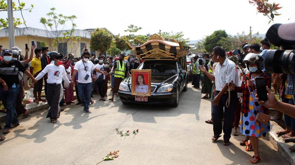 Funeral em Myanmar