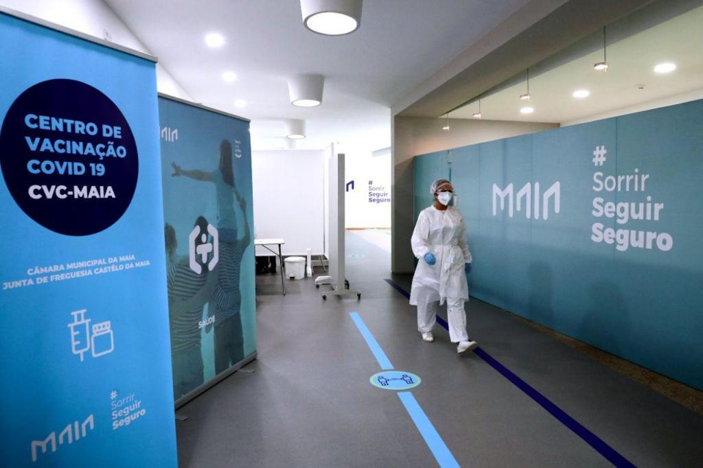Centro de Vacinação Covid-19 da Maia