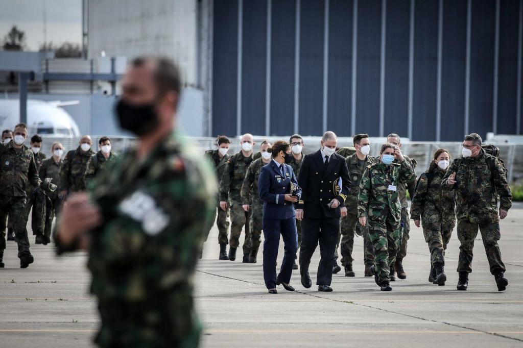 Profissionais de saúde militares alemães