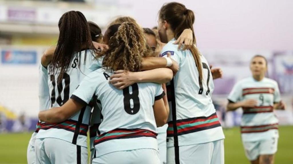 Seleção feminina venceu a Escócia