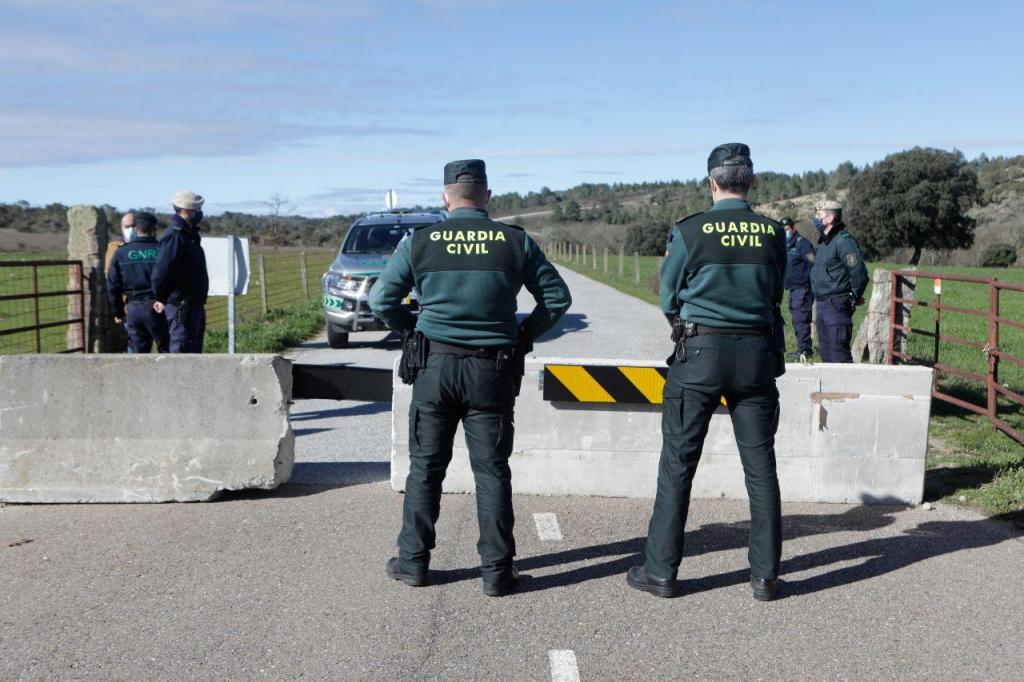 GNR vigia fronteiras na Guarda
